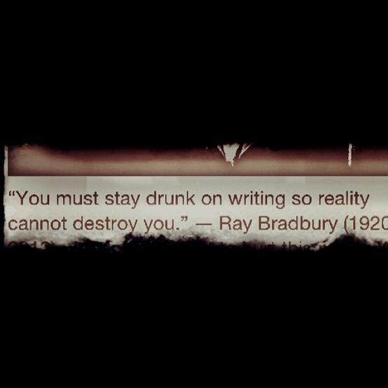 Ray Bradbury Quotes Writing