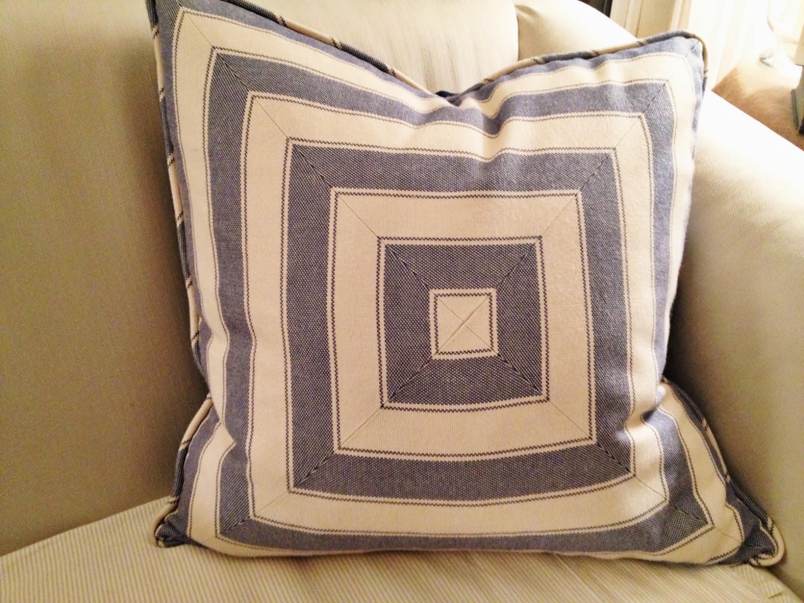 How To Make Decorative Pillows With Cording : Gracious Farmhouse: DIY Cording for Throw Pillows