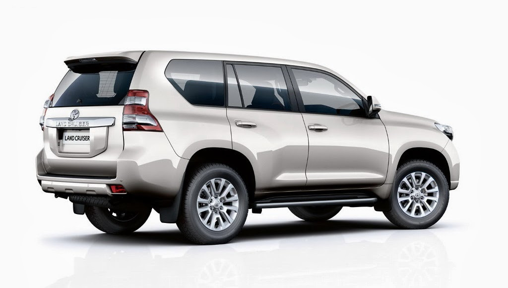 Noul SUV Land Cruiser de la Toyota