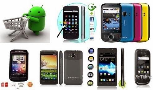 Handphone Android Terbaru 2014