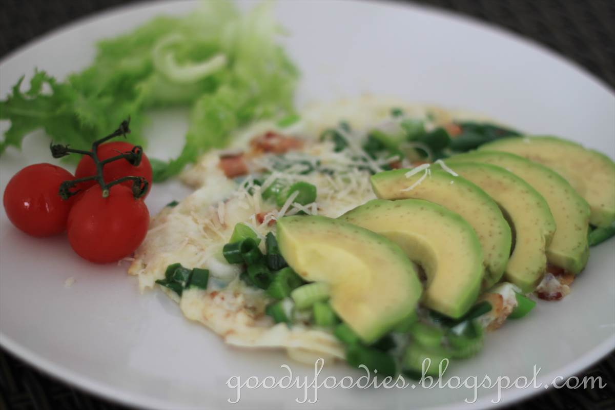 ... white omelette generally cooks much faster than a whole egg omelette