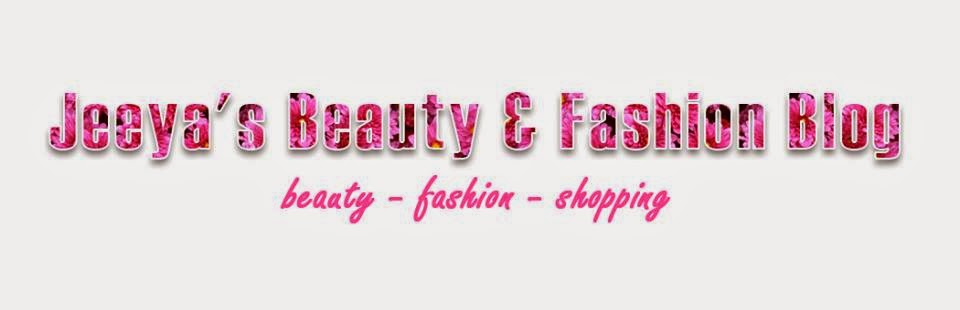Jeeya's Beauty & Fashion Blog