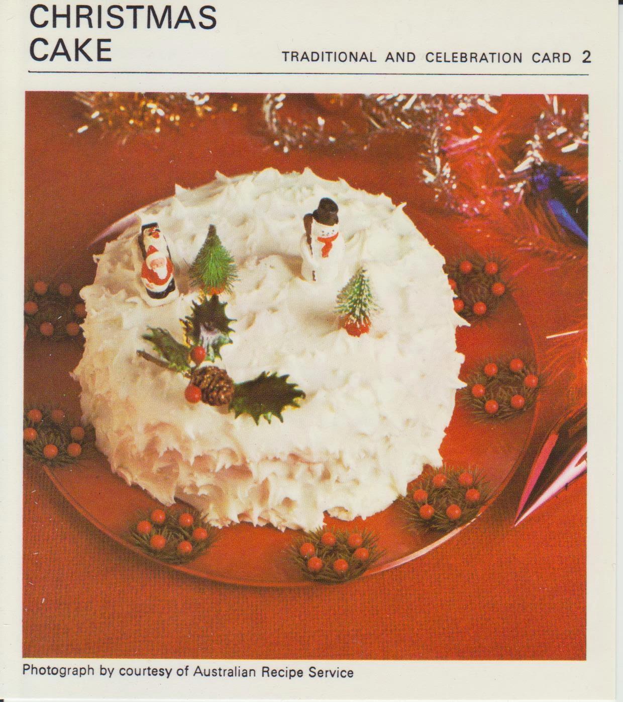 Christmas Cake Icing Recipe Uk