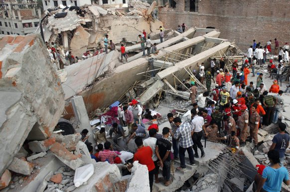 Ki Media Bangladesh Factory Building Collapse Kills