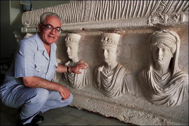 ISIS decapita especialista, em antiguidades