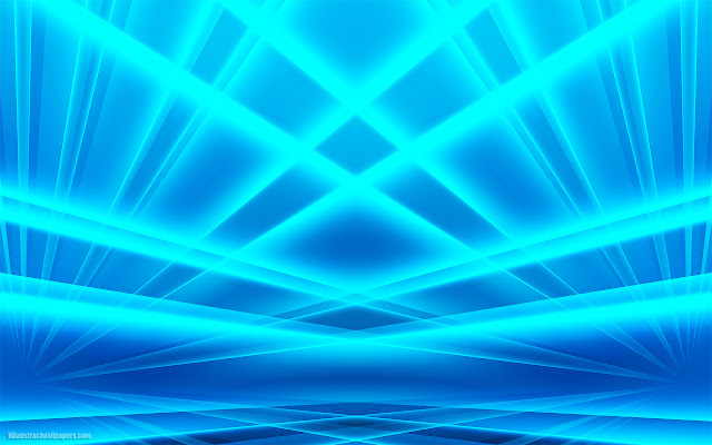 Abstract blue wallpaper with luminous lines