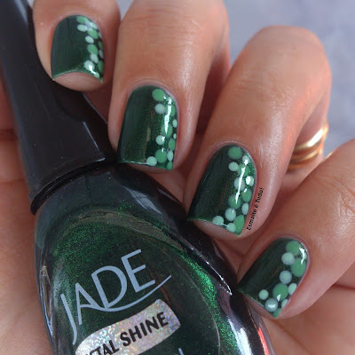 metal shine jade