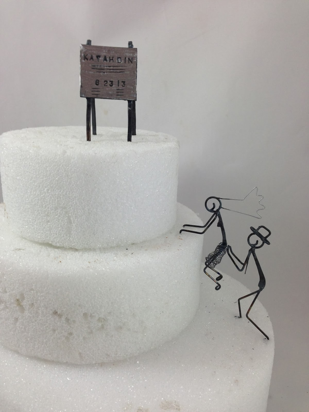 Daryl\'s Rock and Wire Works: Rock Climber Cake Toppers