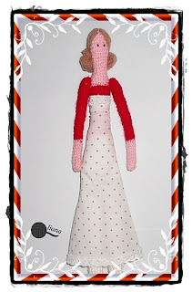 Szydełkowa lalka Tilda Gerda.