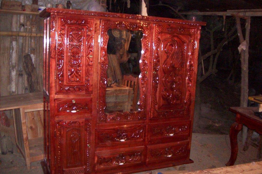 Muebles de cedro rojo  Veracruz octubre 2012