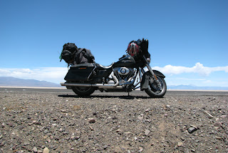motorcycle salt flats salinas grandes