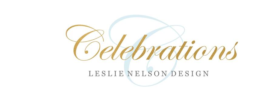 Celebrations - Leslie Nelson Design