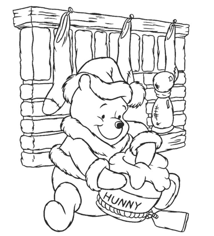 Winnie The Pooh Da Colorare Disegni Da Stampare Gratis