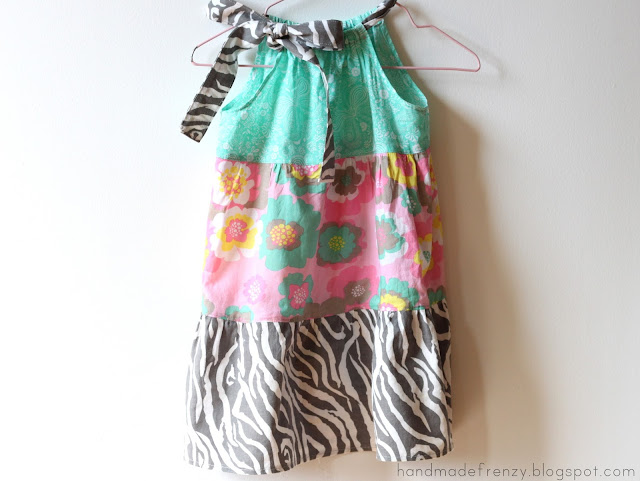 Tiered Pillowcase Dress