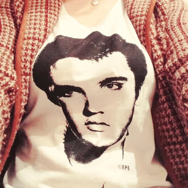 Fräulein Bergers Elvis-Shirt