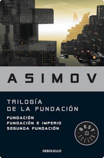 Asimov Trilogía de la Fundación Imperio segunda fundación debolsillo best seller novela libro