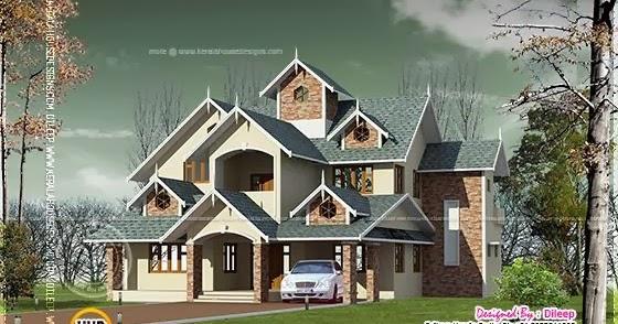 victorian style vastu compliant home home kerala plans