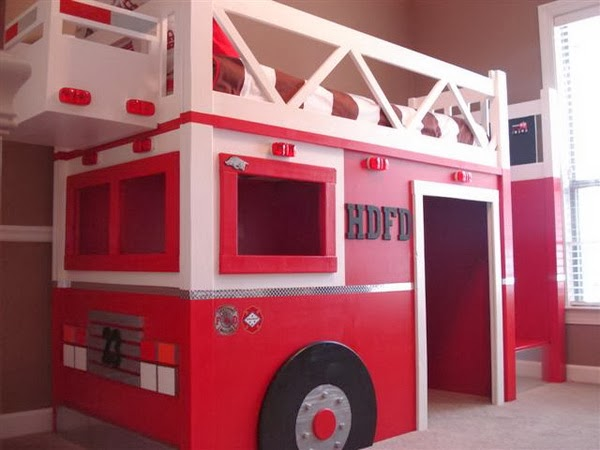 ... : Stylish Eve DIY Projects: Build a Playhouse Loft Bed for Your Child