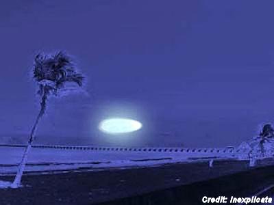 UFO 'Went Upward Until It Completely Vanished'