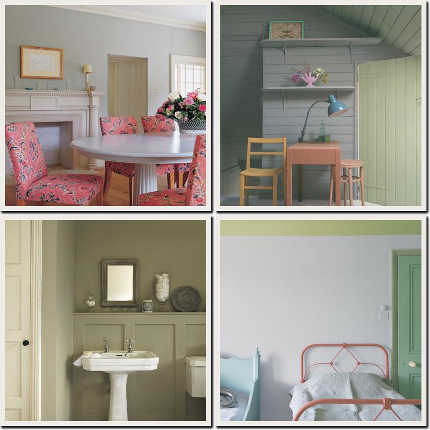 Il colore in casa shabby chic interiors - Colori provenzali per mobili ...
