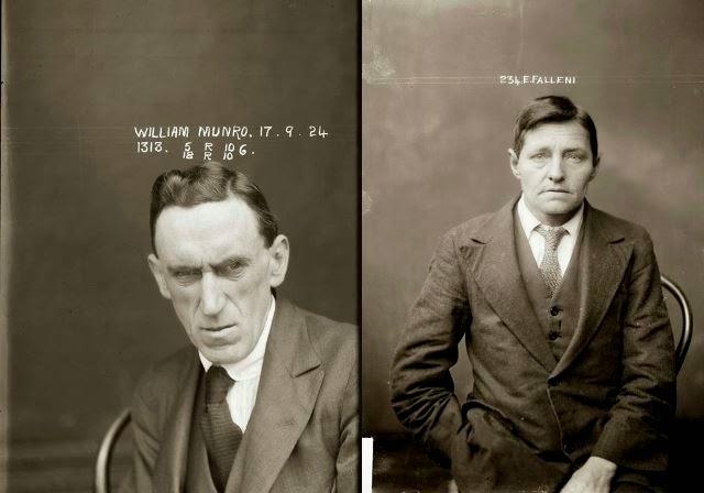 Antiguos retratos de criminales