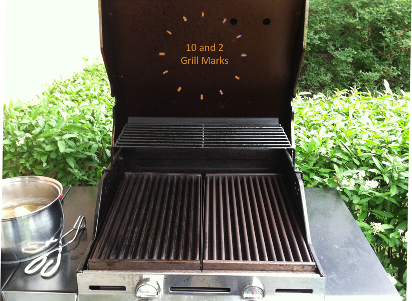 After About 15 Minutes Your Grill Should Be Hot Enough (550°F) To Start The  Process Of Making Steakhouse Grill Marks In Your Very Own Backyard.