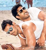 Abhishek bachchan, john abraham, dostana, gay, homosexual, kissing