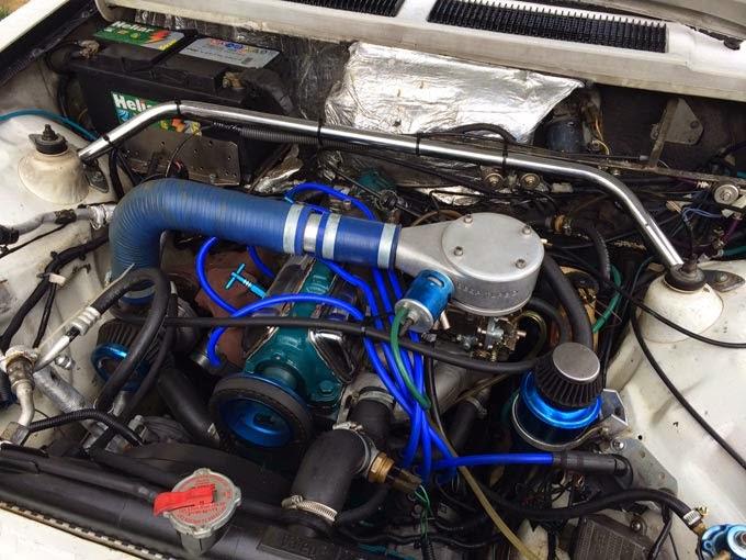 """Chevette Rebaixado + Turbo + Rodas 20"""" + Som"""