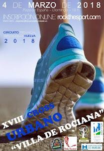 XVIII CROSS URBANO VILLA DE ROCIANA
