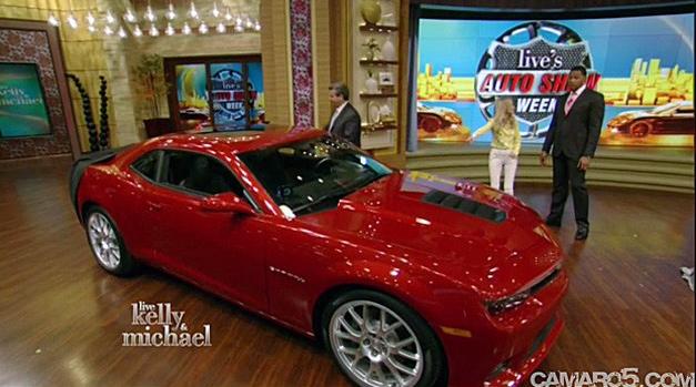 2014 Chevrolet Camaro Surprise Debut