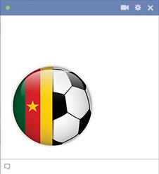 Cameroon football emoticon