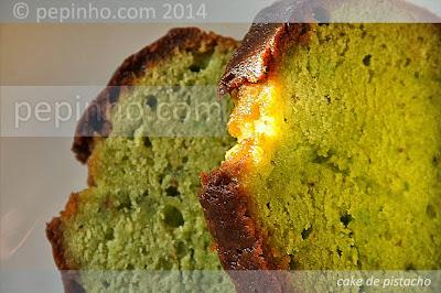 Cake de pistacho