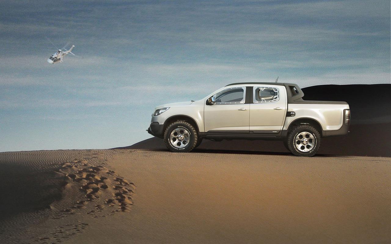 New Car Chevrolet Colorado Rally Concept Truck