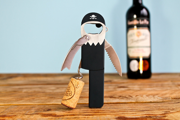 korkociag pirat otwieracz do butelek