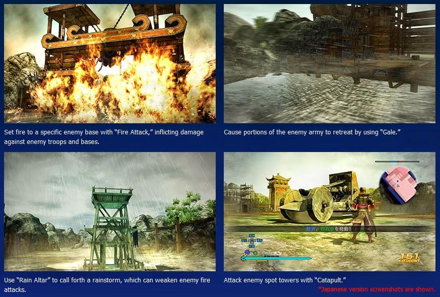 กลยุทธ์ใน Dynasty Warriors 8 Empires