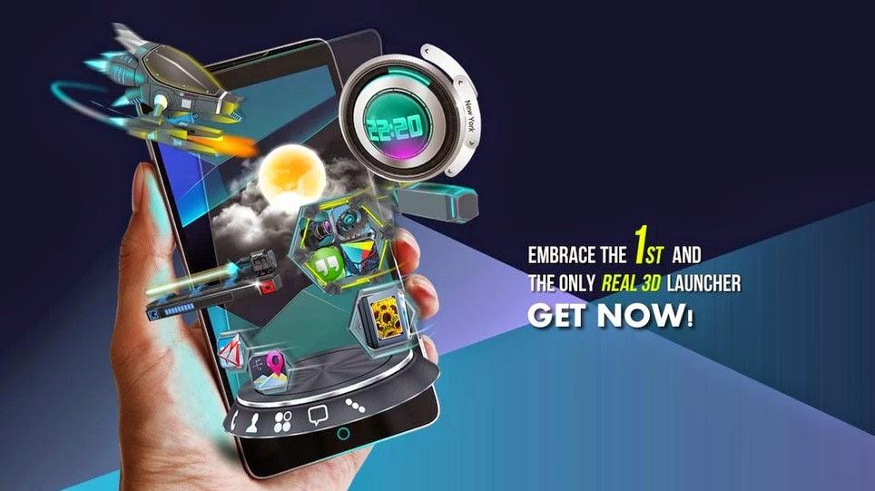 Next Launcher 3D Shell v3.13 Apk