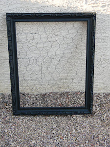 Chicken Wire Frame  *SOLD*