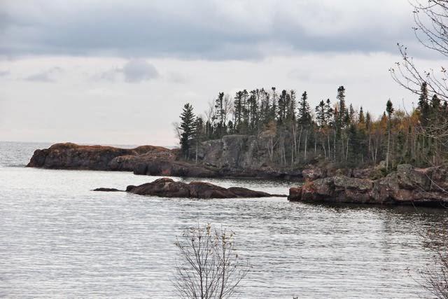 Lake Superior cove