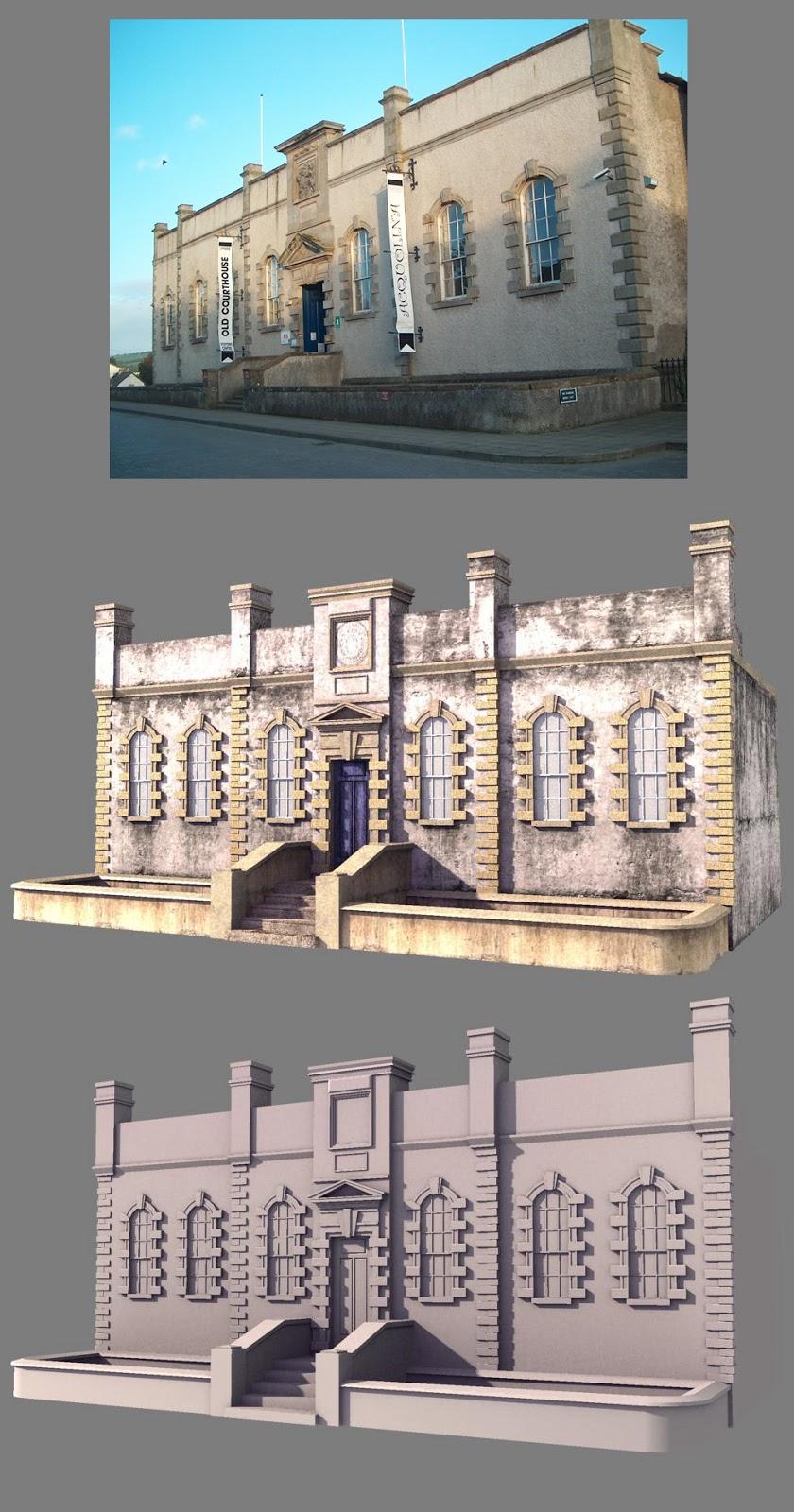 Nattakorn Wongsathitdee Nat 3D: Violet Town buildings, item and props
