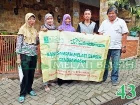 Bank Sampah Melati Bersih Cendrawasih Kedaung Pamulang Tangerang Selatan