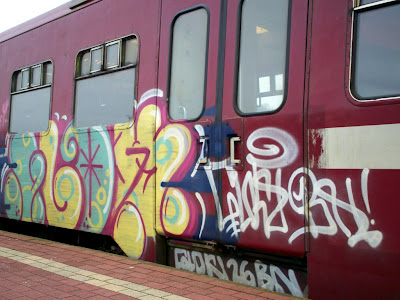 grafity bombing