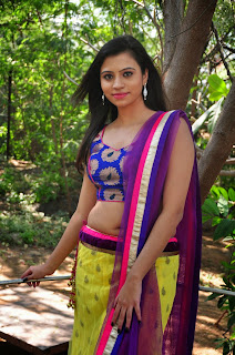 Priyanka tamil actress in lovely Chania Choli Spicy pics