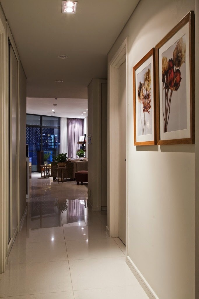 Hành lang căn hộ City Garden 2 phòng ngủ đẹp