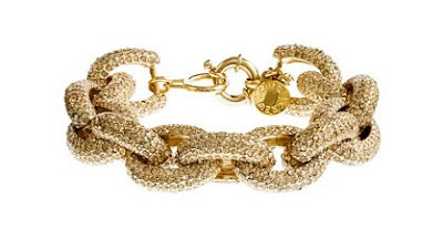 J.Crew classic pave link bracelet, gifts for her