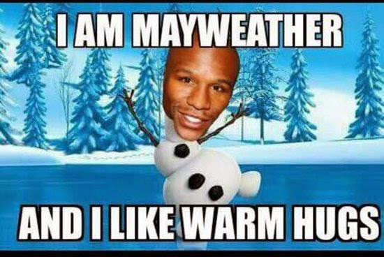 floyd should be on marathon not boxing