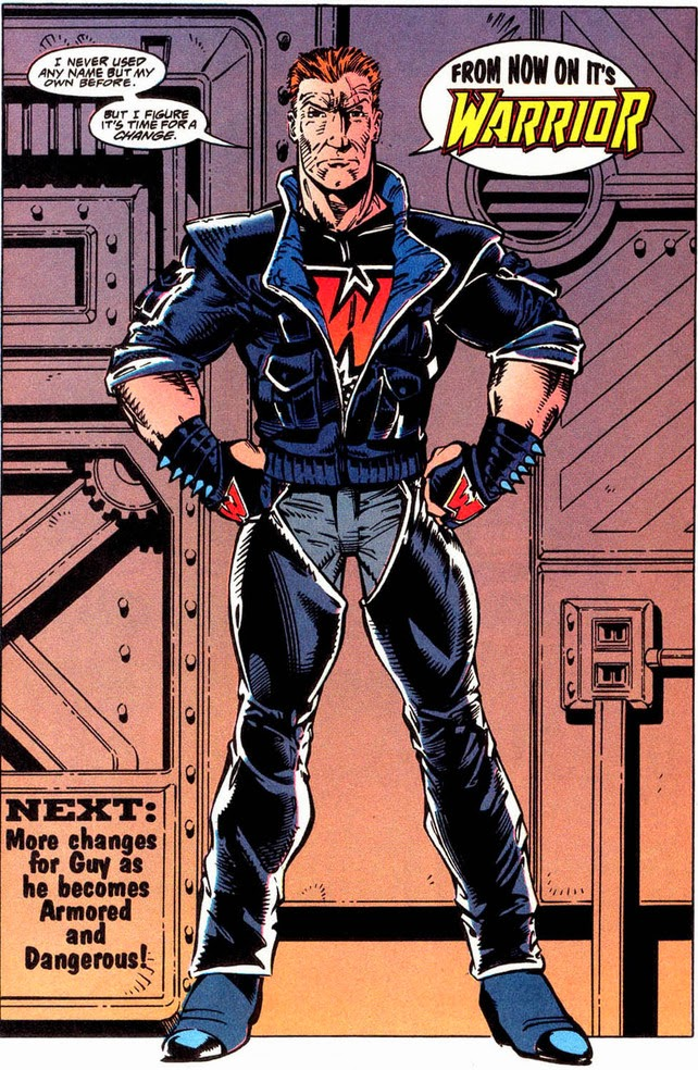 Guy Gardner Warrior new costume