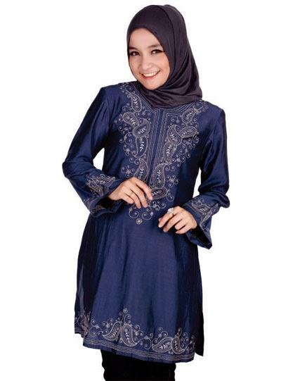 Baju atasan muslim remaja sifon