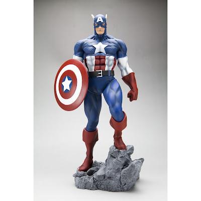 Captain America Statue-1