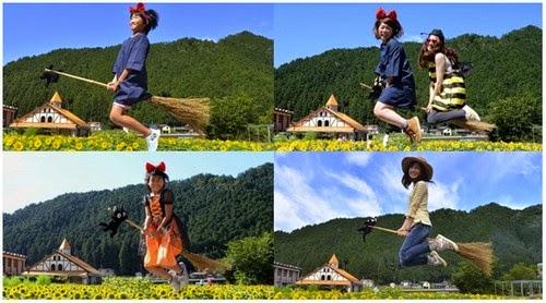 Di Mino City Witch Contest Anda Boleh Terbang Dengan Penyapu Ajaib