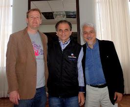 Airton Engster dos Santos, Marcelo Mallmann e Eduardo Shinyashiki